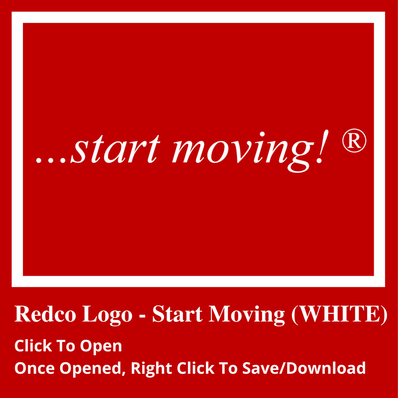start moving white icon