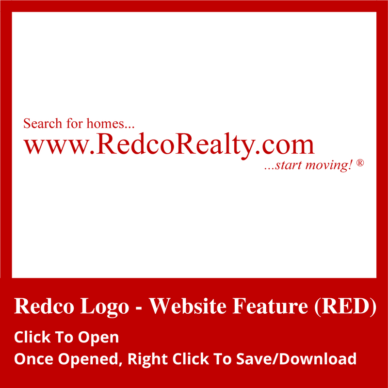 website feature red logo icon