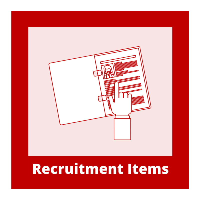 Recruitment Items