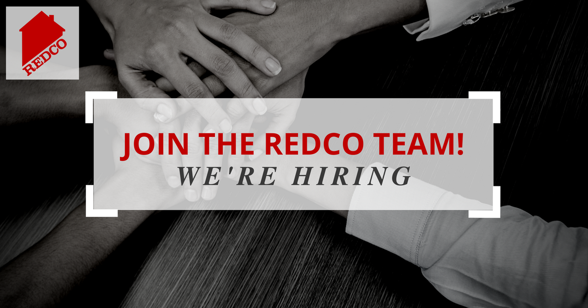 Join Redco - Now Hiring